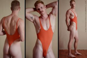 A - Wrestling Singlet Thong