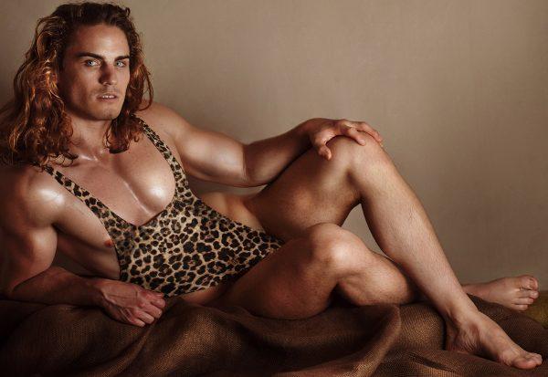 A - Leotard / wrestling singlet / thong for guys
